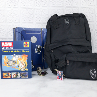 Marvel Gear + Goods January 2018 Subscription Box Review + Coupon!