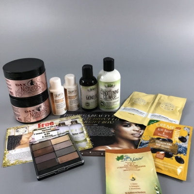 COCOTIQUE January 2018 Subscription Box Review + Coupon