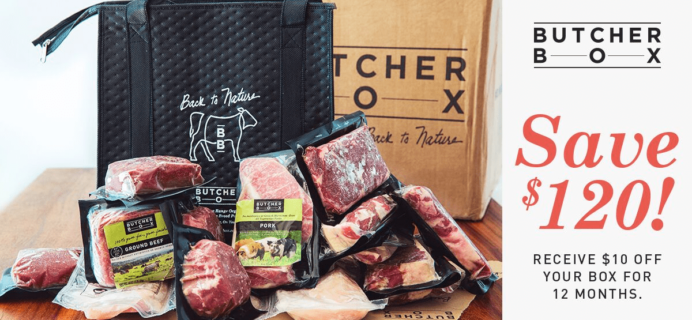 LAST CALL! ButcherBox Deal: Get $10 Off Every ButcherBox For 12 Months!