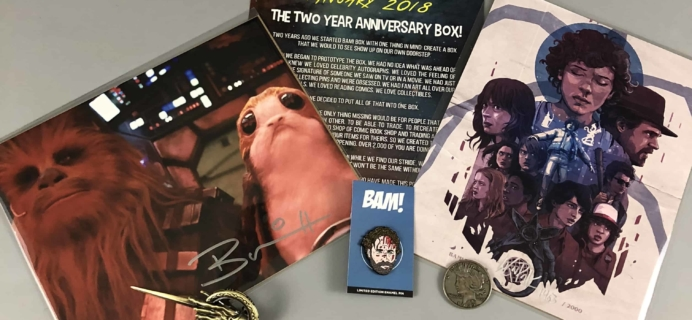The BAM! Box January 2018 Subscription Box Review & Coupon