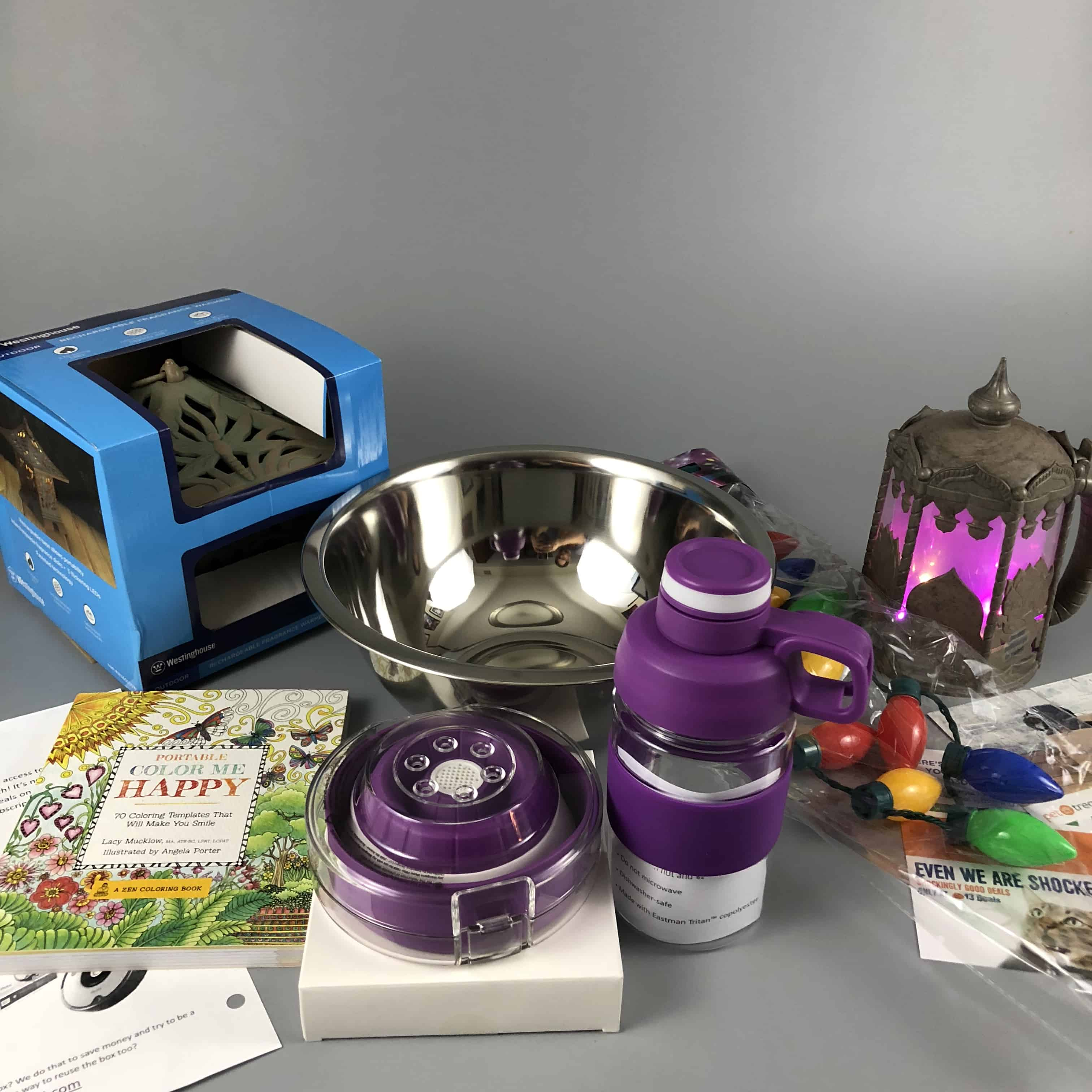 Monthly Mystery Box of Awesome February 2018 Subscription Box Review