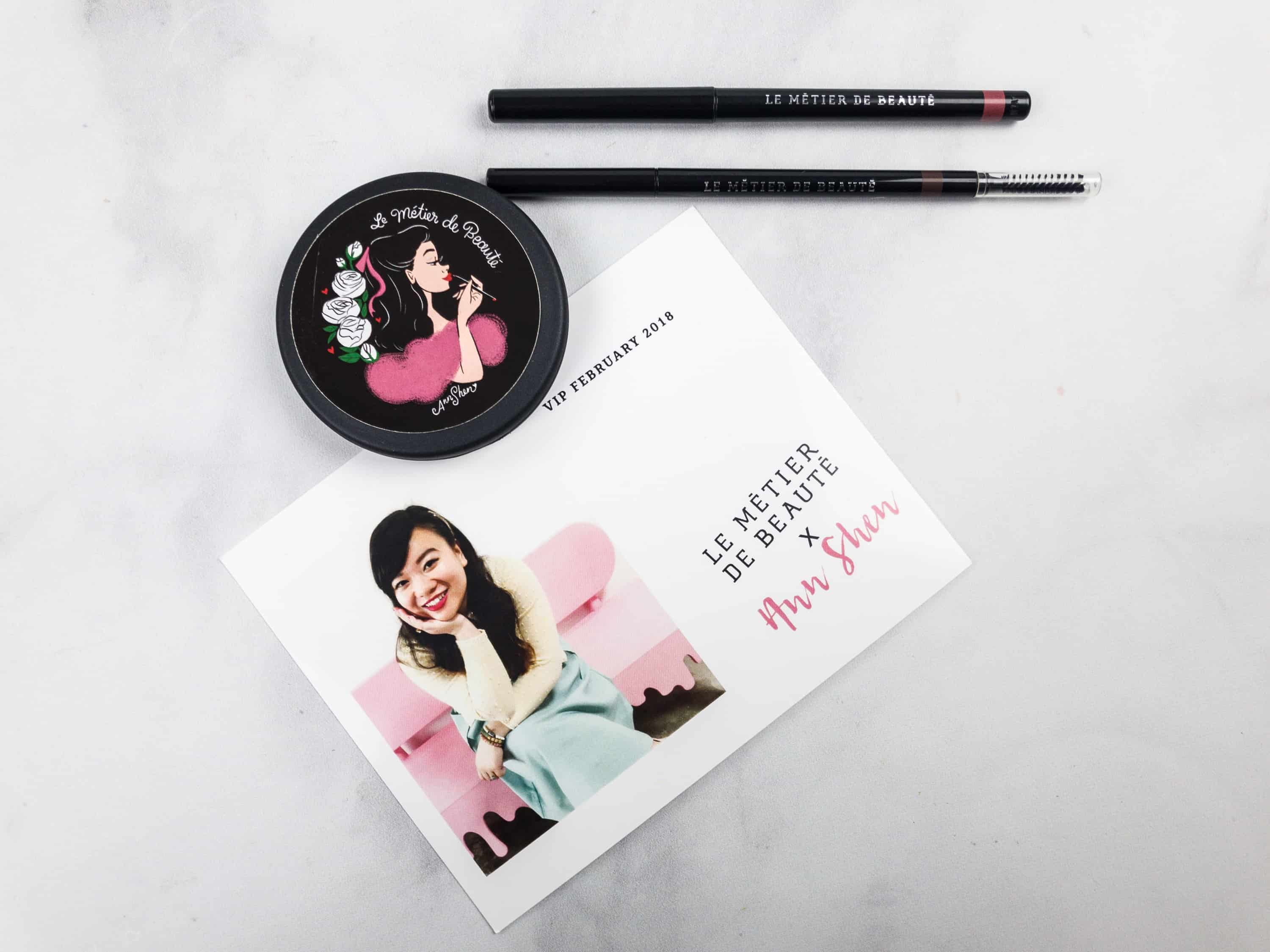 Le Métier de Beauté Beauty Vault VIP Subscription Box Review – February 2018