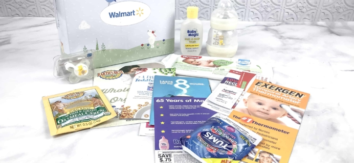 Walmart Baby Box Review: Newborn-Infant Box