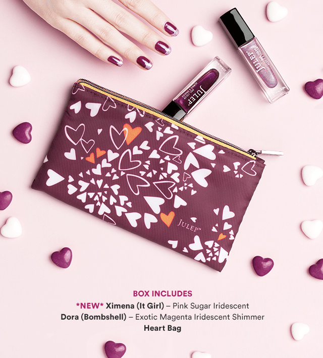 Julep Valentines 2018 Express Yourself Mystery Box Available Now + Coupon!