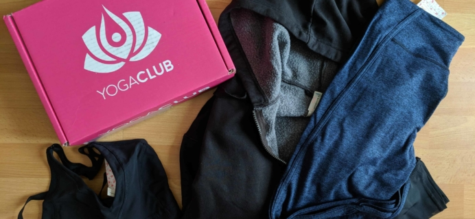 YogaClub Subscription Box Review + Coupon – February 2018