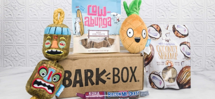 Barkbox February 2018 Subscription Box Review + Coupon