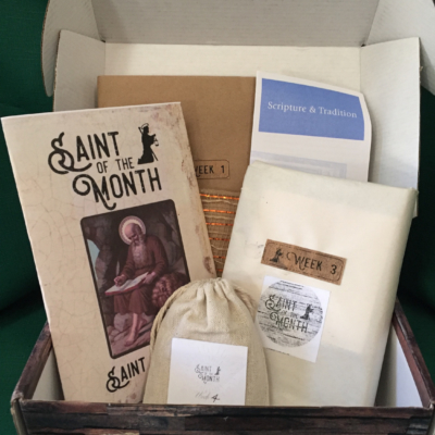 Saint Of The Month March 2018 Subscription Box Review + Coupon