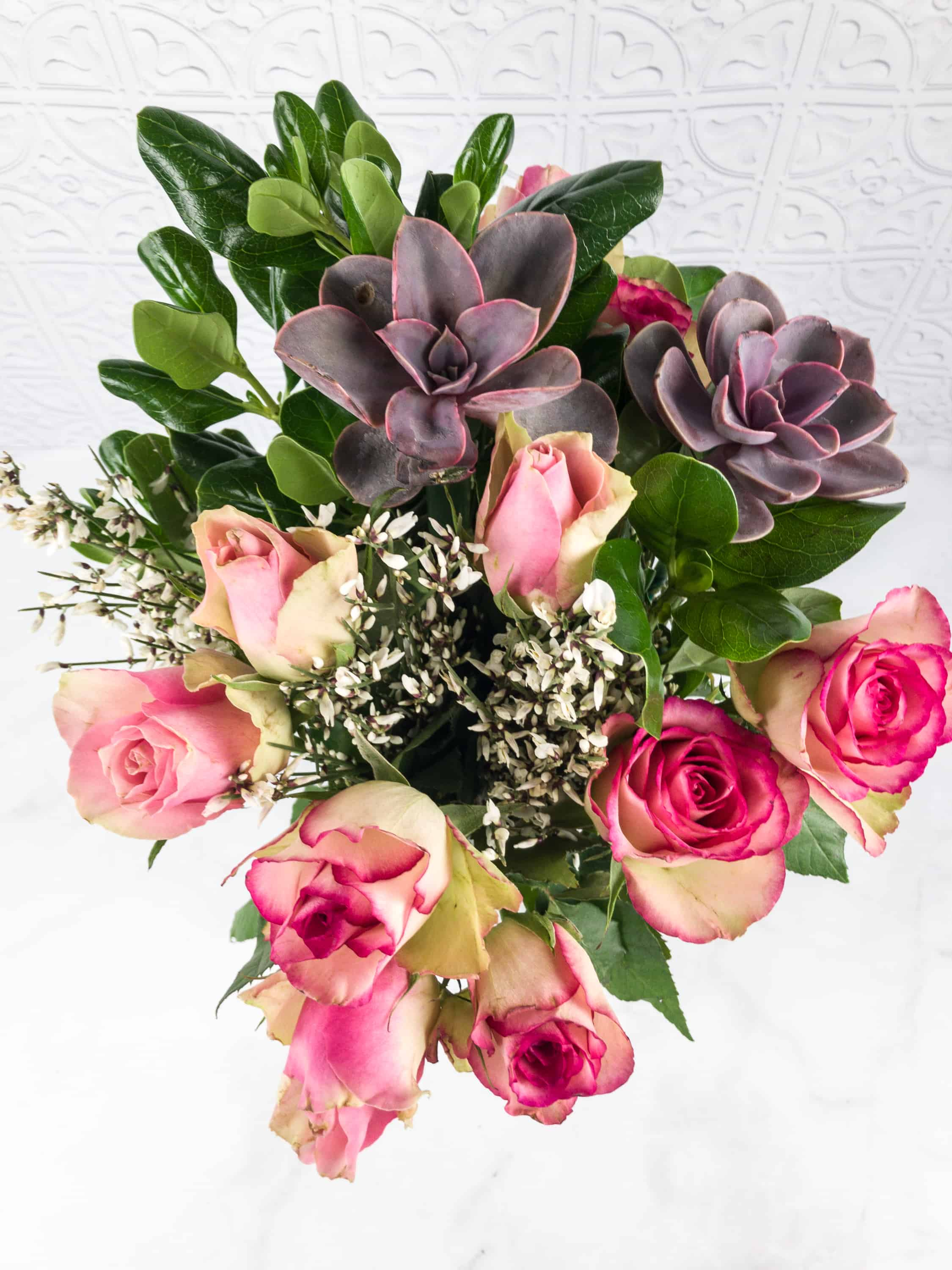 The bouqs february 2018 review coupon hello subscription i trimmed the stems placed them in water with the included plant food and wait for it waited 24 hours that is when your flowers will look the best izmirmasajfo