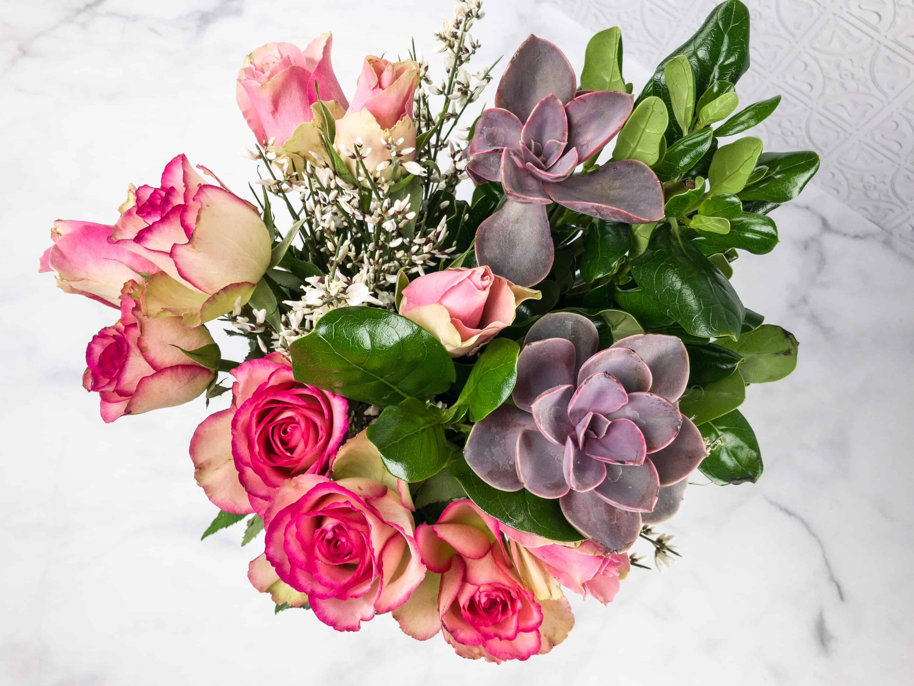 The bouqs february 2018 review coupon hello subscription i didnt quite follow the instructions for putting the blooms 2 inches above the vase you already know that i cant arrange flowers to save my life izmirmasajfo