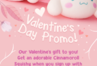 YumeTwins Coupon: FREE Cinnamoroll Squishy!