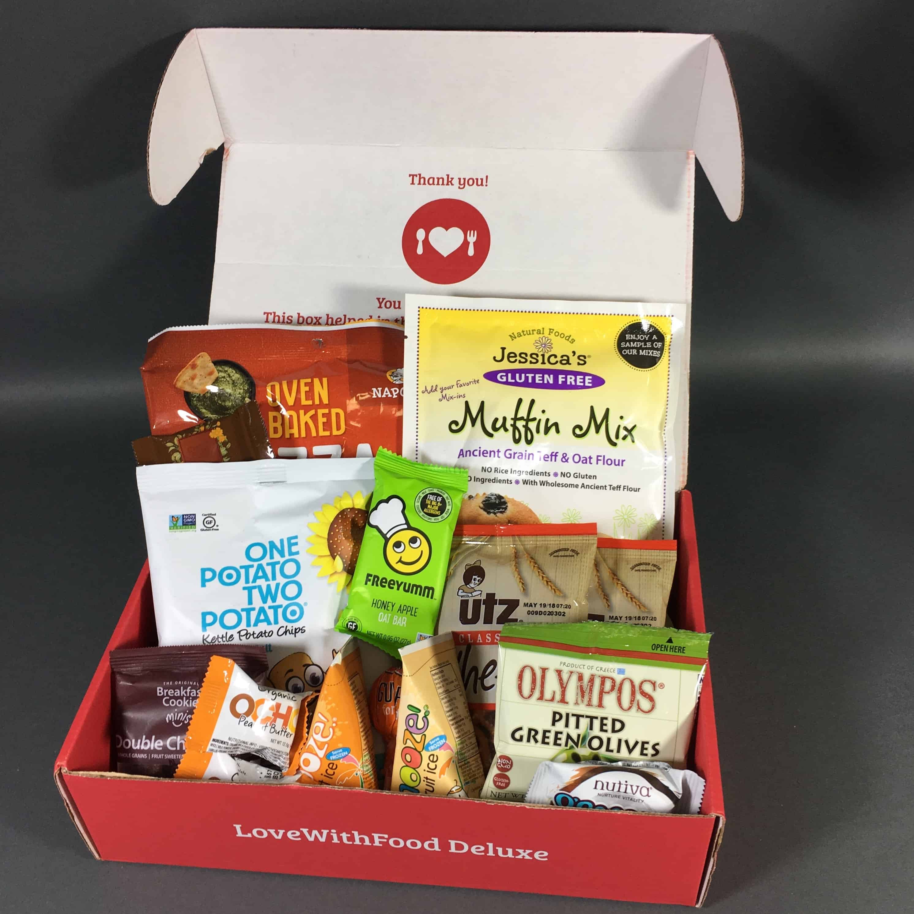 Love With Food February 2018 Deluxe Box Review + Coupon