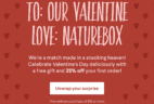 Naturebox Valentine's Day Coupon: Save 25% on First Order + FREE Gift!