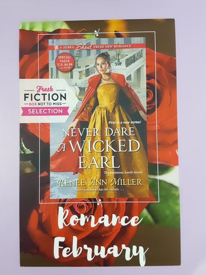 Fresh fiction box january 2018 subscription box review coupon i received 5 paperbacks and codes for 1 e book fresh fiction sends different box variations each month so keep in mind that your box may vary from mine fandeluxe Images