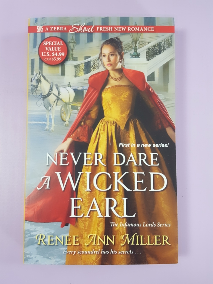 Fresh fiction box january 2018 subscription box review coupon never dare a wicked earl by renee ann miller 374 is the featured book this month it sounds like a great battle of the wills fandeluxe Images