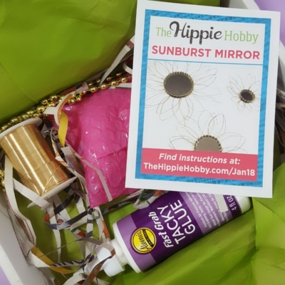 The Hippie Hobby Subscription Box Review & Coupon – January/February 2018