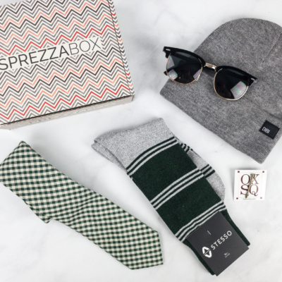 SprezzaBox Subscription Box Review + Coupon – February 2018