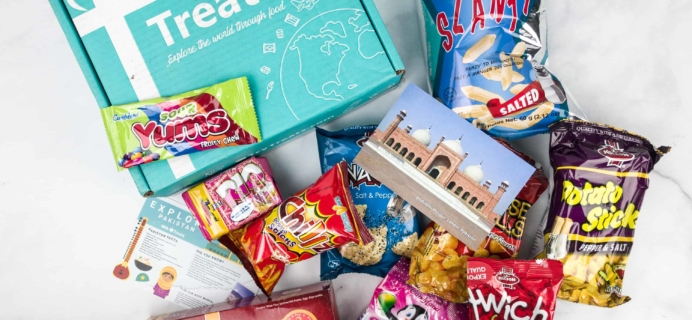 Treats Box February 2018 Review & Coupon – Pakistan