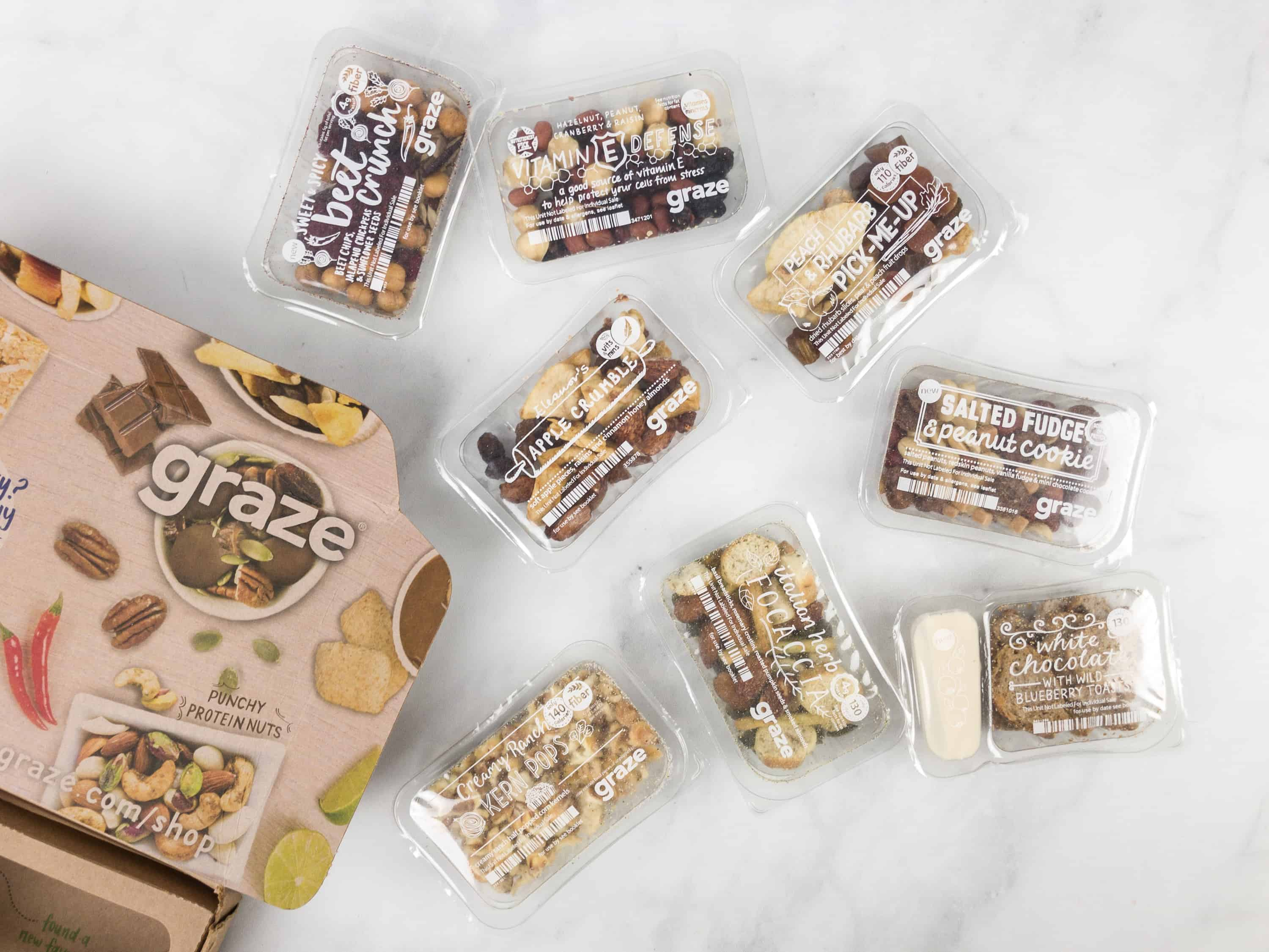 Graze Variety Box Review & Free Box Coupon – February 2018