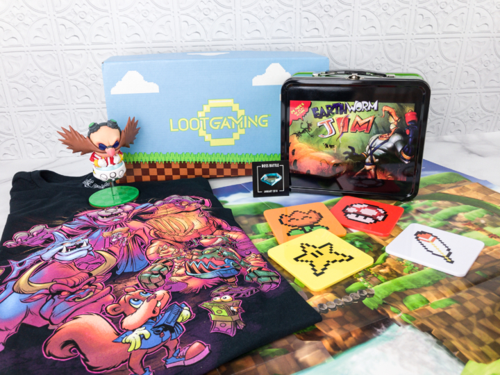 Loot Gaming January 2018 Subscription Box Review Amp Coupon