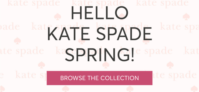 RocksBox Kate Spade Spring 2018 Collection Available Now + Coupon!