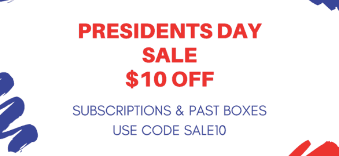 Cocotique Presidents Day Sale: $10 Off All Subscriptions & Past Boxes! LAST DAY!