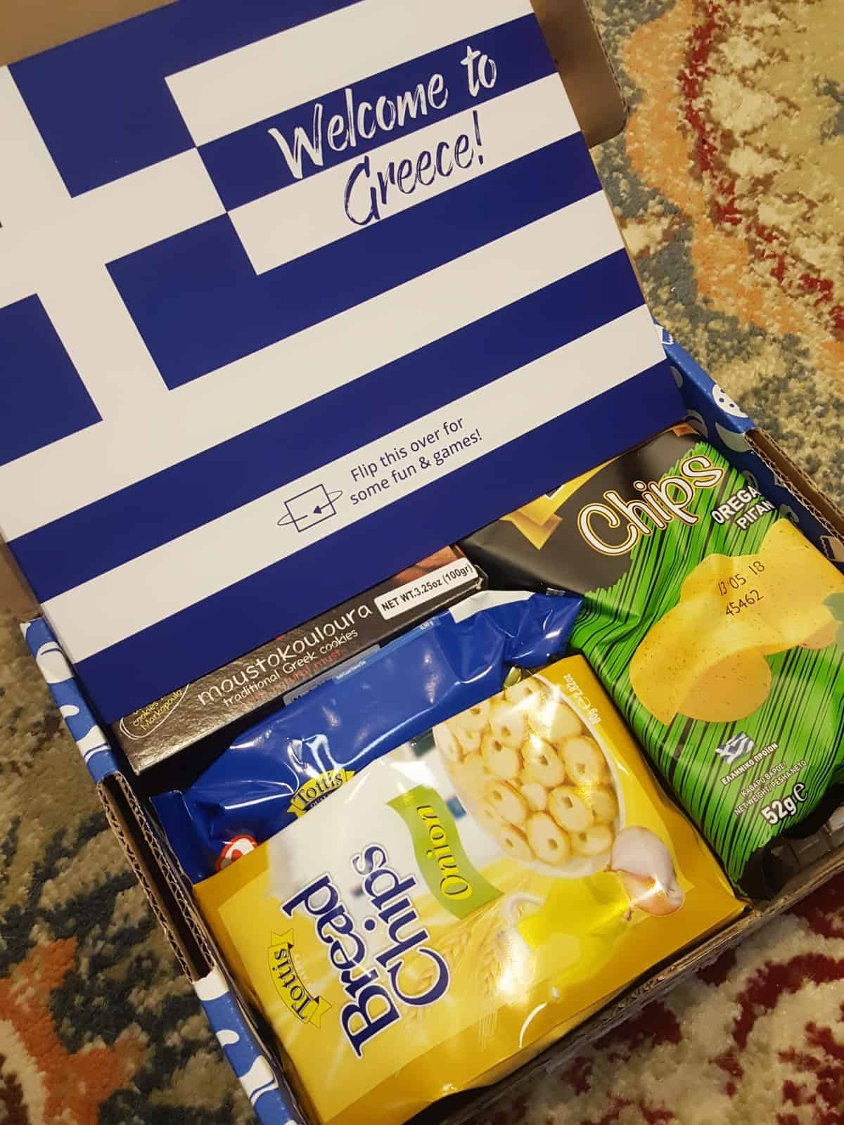 Universal Yums January 2018 Subscription Box Review – Greece
