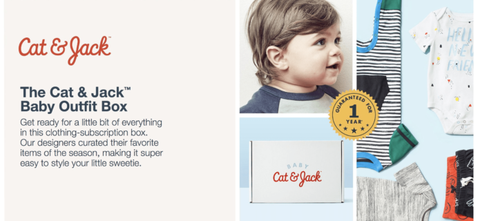 New Subscription Boxes: Target Cat & Jack Baby Outfit Box!