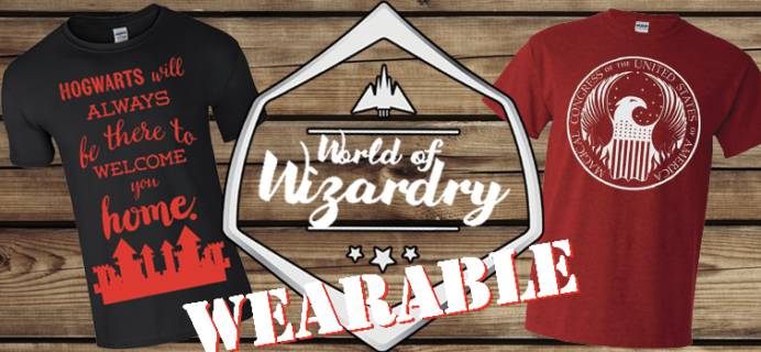 GeekGear World of Wizardry Wearables Coupon: Get 25% Off Subscriptions!