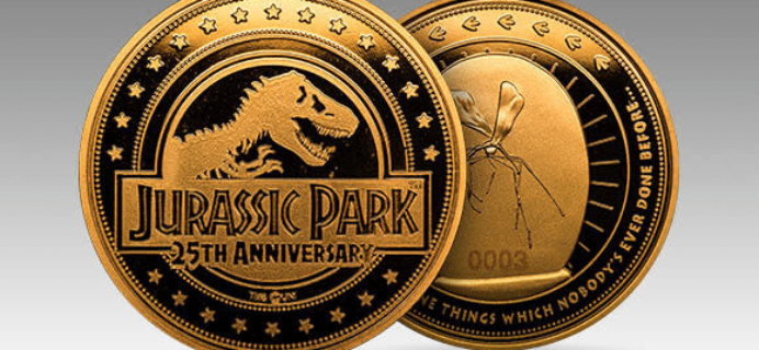 ZBOX Jurassic Park Exclusive Collector's Coin Available Now!