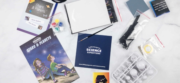 Little Passports Science Expeditions Subscription Box Review – Star & Planets