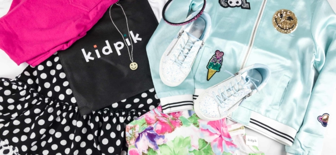 Kidpik Spring 2018 Subscription Box Review + Coupon