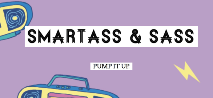 Smartass + Sass Box March 2018 Spoiler #1 + Coupon!
