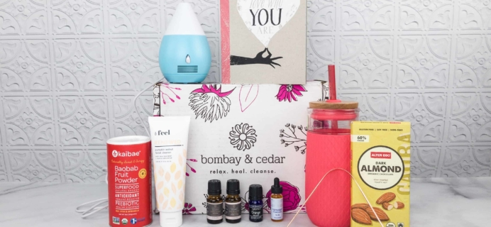 Bombay & Cedar Subscription Box Review + Coupon – February 2018