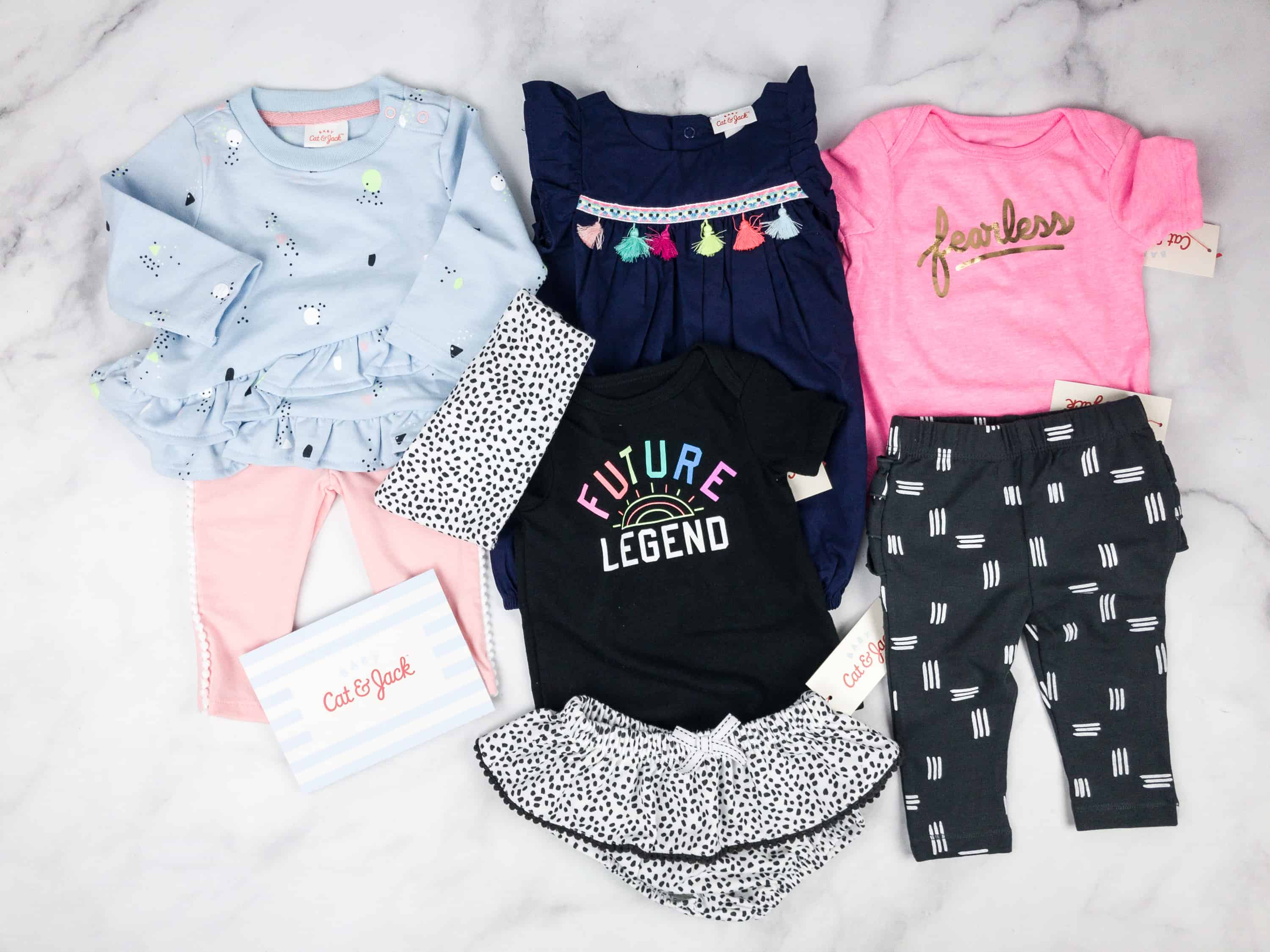 Tar s Cat & Jack Baby Outfit Box Subscription Box Review Spring