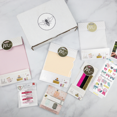 Busy Bee Stationery February 2018 Subscription Box Review