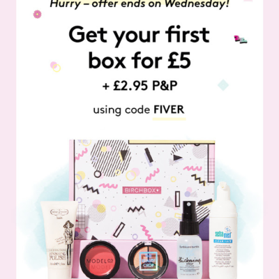 Birchbox UK Coupon : Get 50% Off Your First Box!
