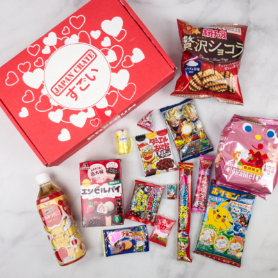 Japan Crate February 2018 Subscription Box Review + Coupon