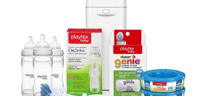 Playtex Newborn Gift Registry Set $69.99 Shipped from Amazon!