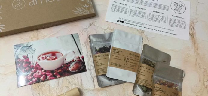 Amoda Tea February 2018 Subscription Box Review + Coupon!