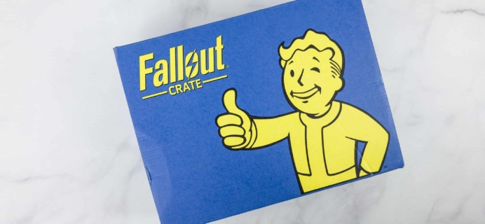 Loot Crate Fallout Crate February 2018 Review + Coupon