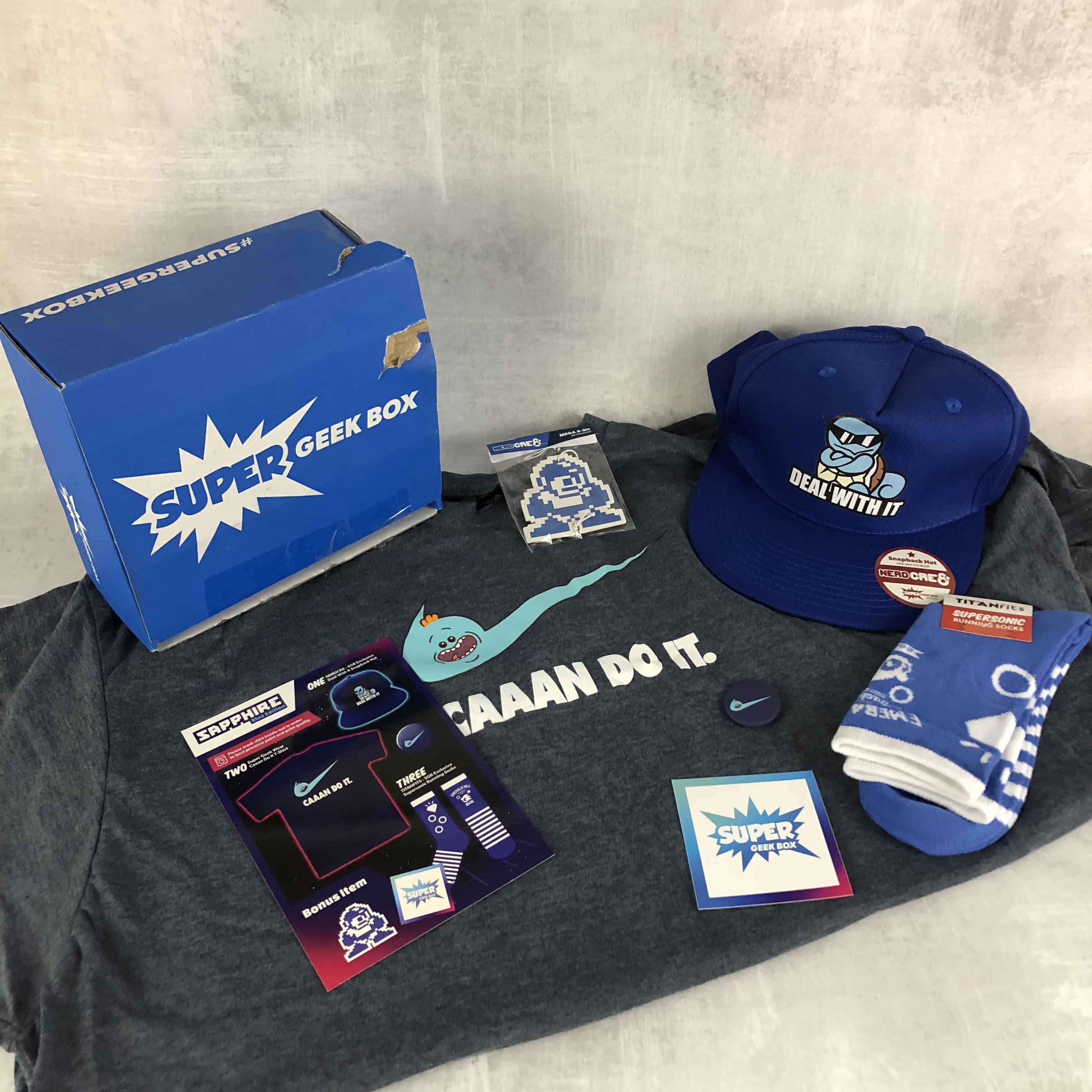 Super Geek Box February 2018 Subscription Box Review & Coupon