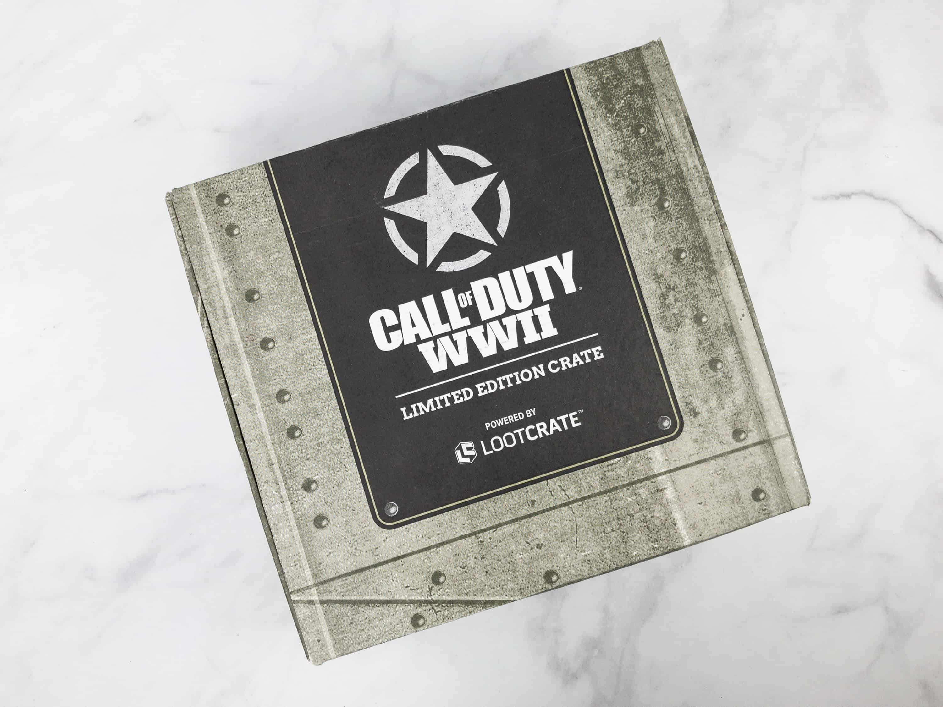 Loot Crate Limited Edition Call of Duty: WWII Crate Review