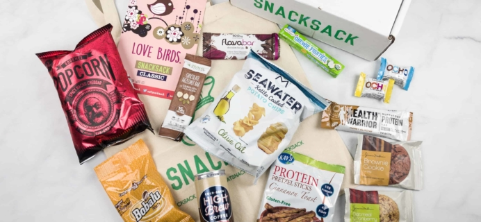SnackSack February 2018 Subscription Box Review & Coupon – Classic