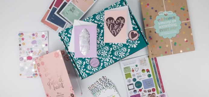 Erin Condren Seasonal Surprise Box Winter 2017 Giveaway!