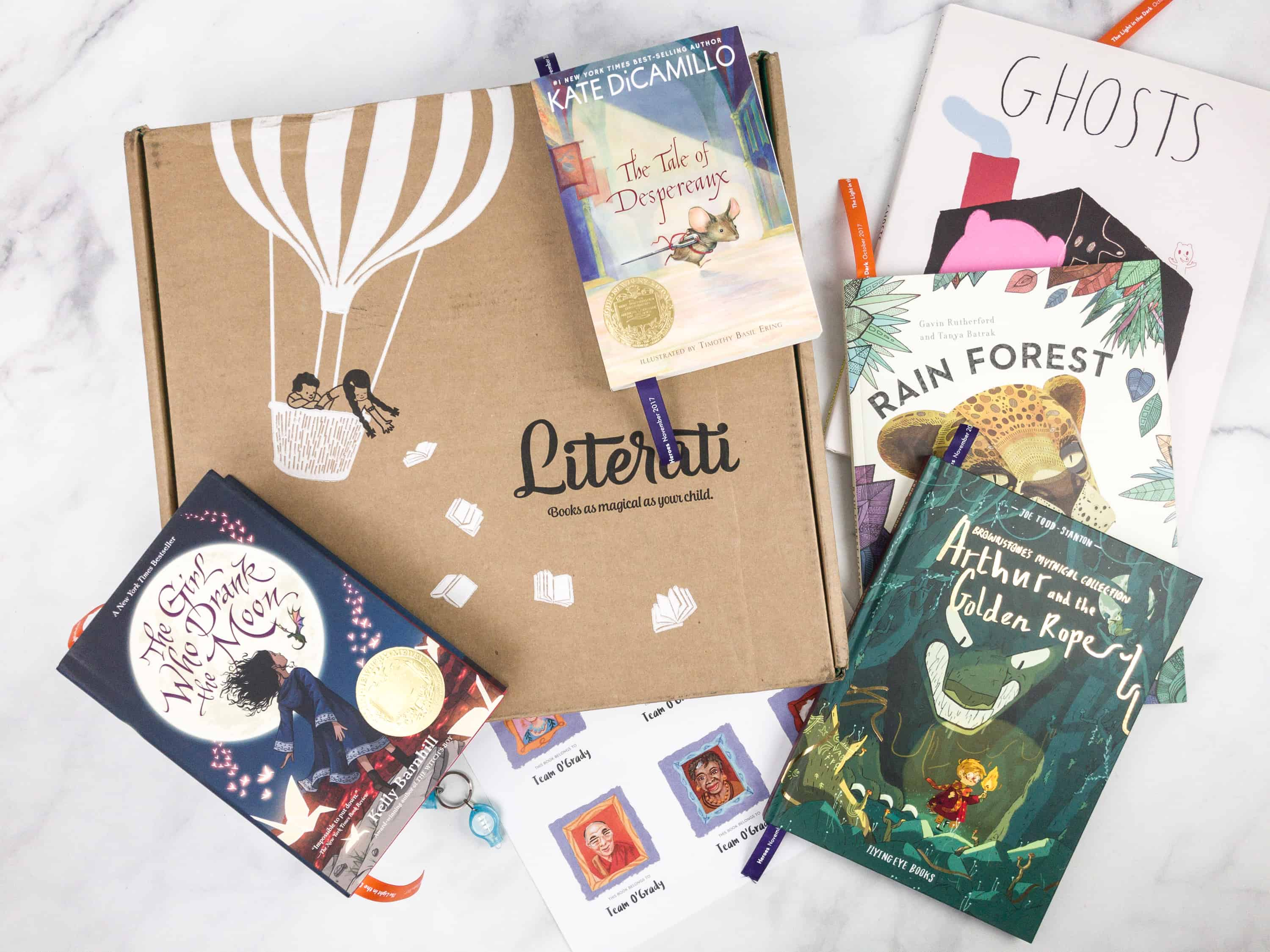 Literati Club Sage Welcome Experience Box Review – February 2018