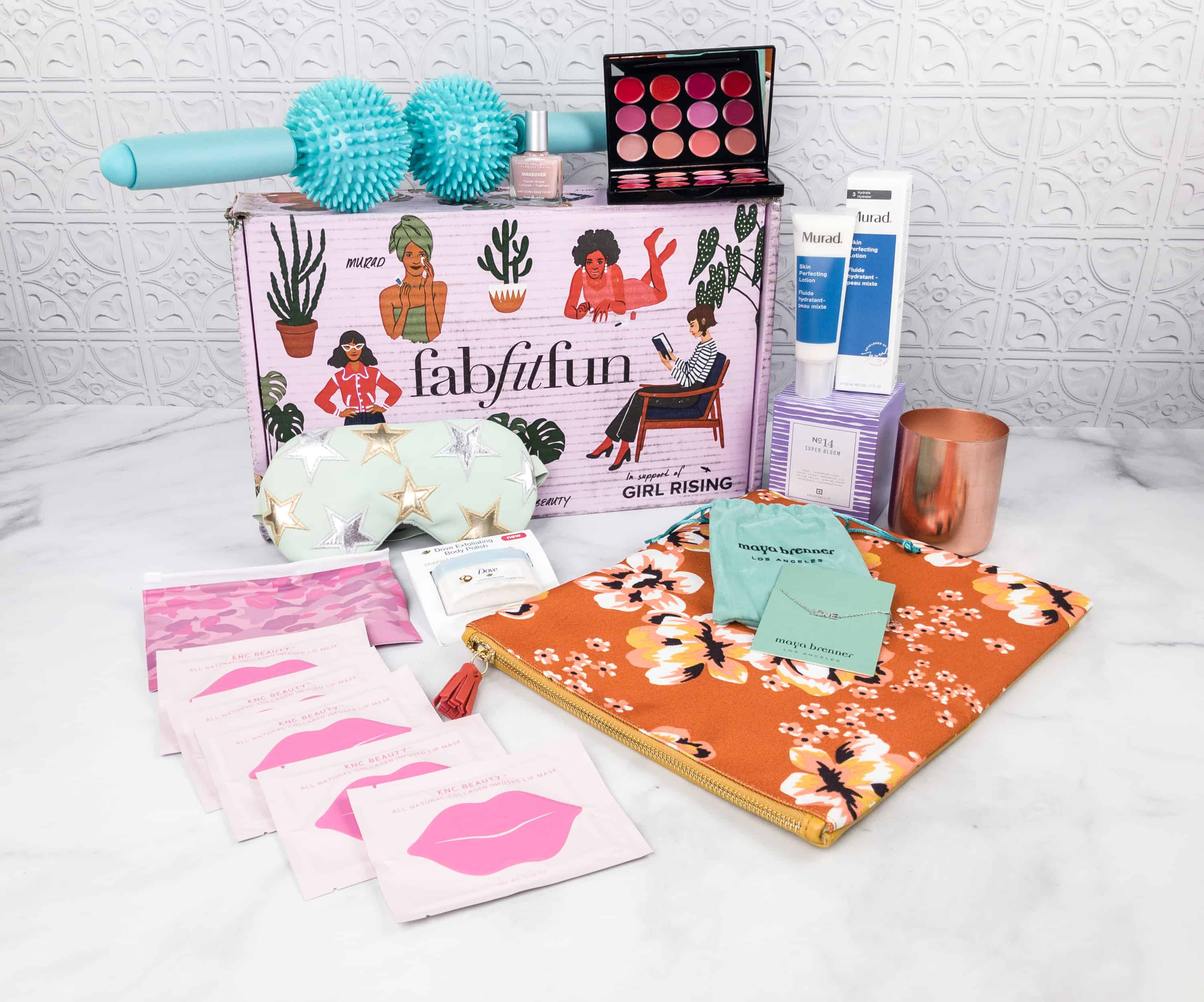FabFitFun Spring 2018 Box Review + $10 Coupon