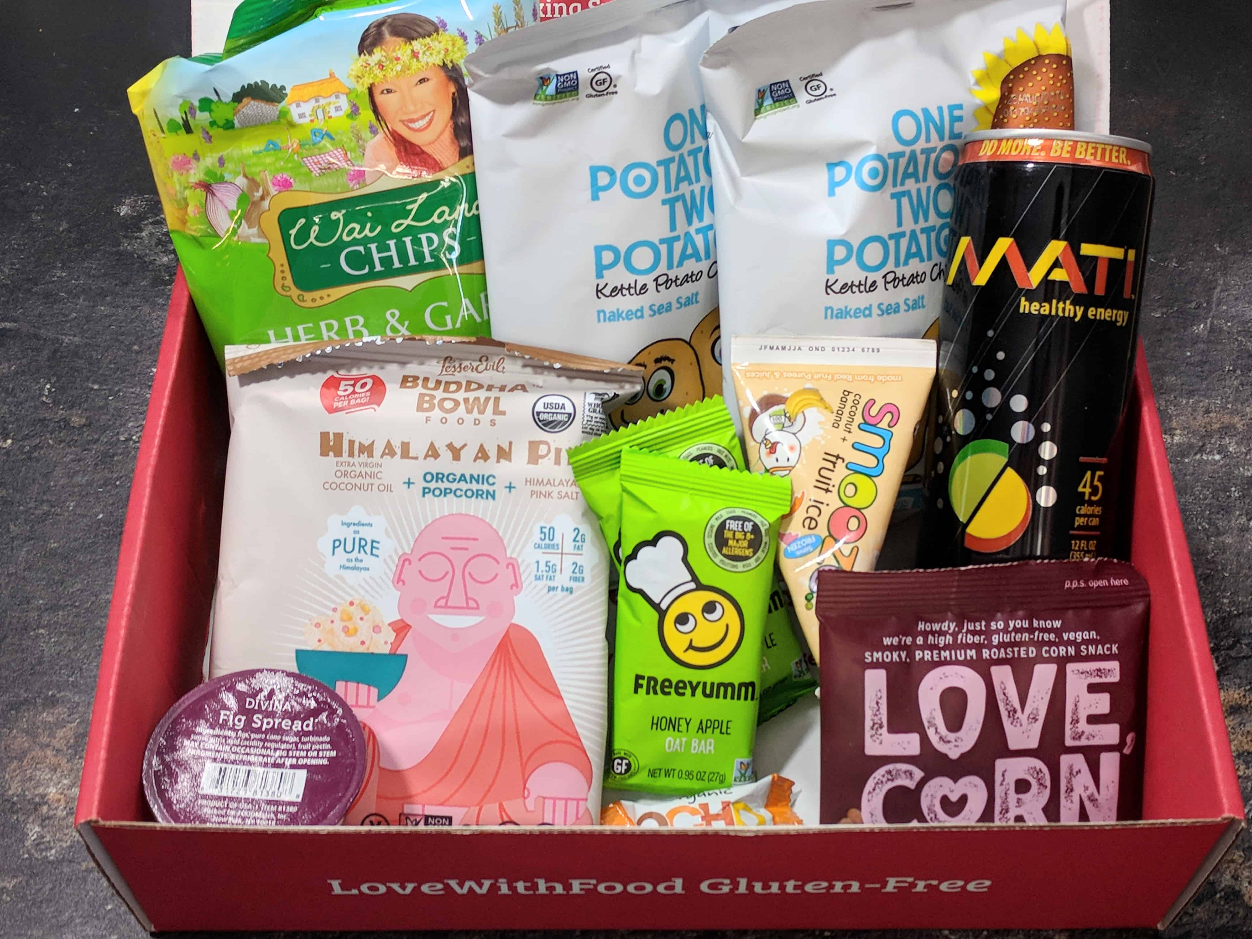 Love With Food Gluten-Free February 2018 Subscription Box Review + Coupon