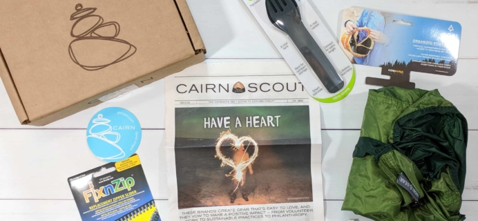 Cairn February 2018 Subscription Box Review + Coupon