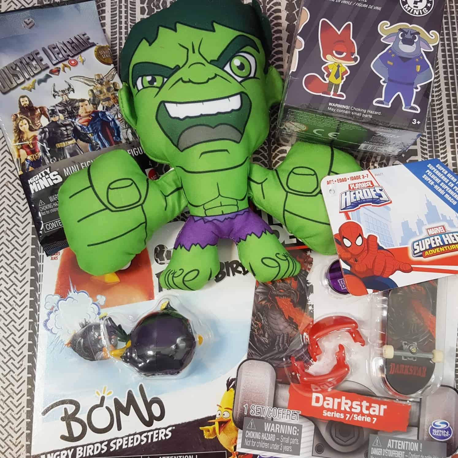 Toy Box Monthly February 2018 Subscription Box Review