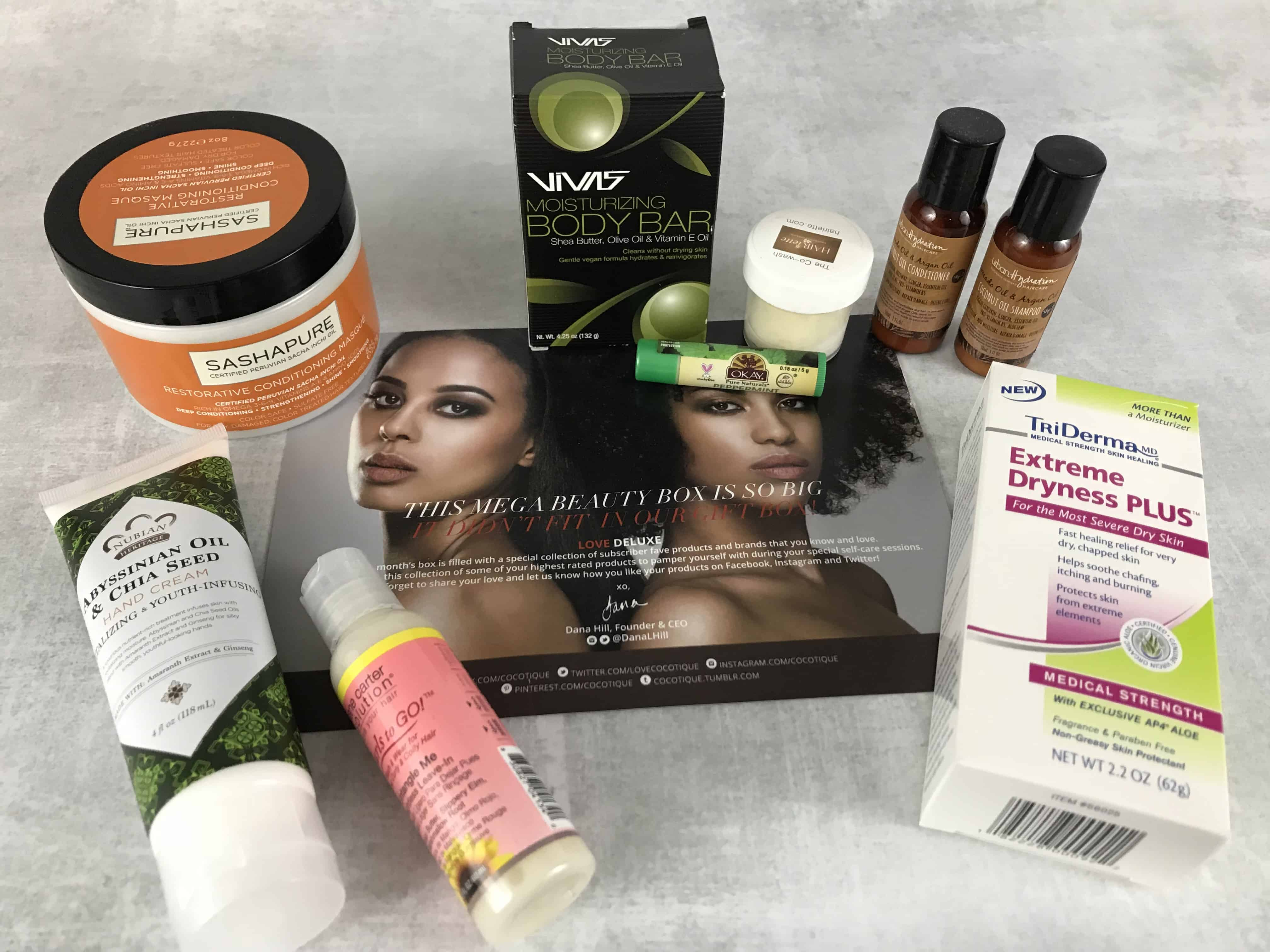 COCOTIQUE February 2018 Subscription Box Review + Coupon
